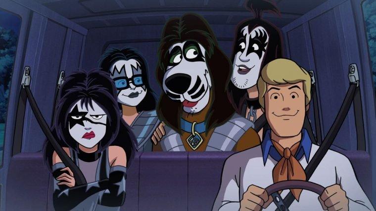 Animação Scooby-Doo! Encontra Kiss chega ao Brasil em DVD