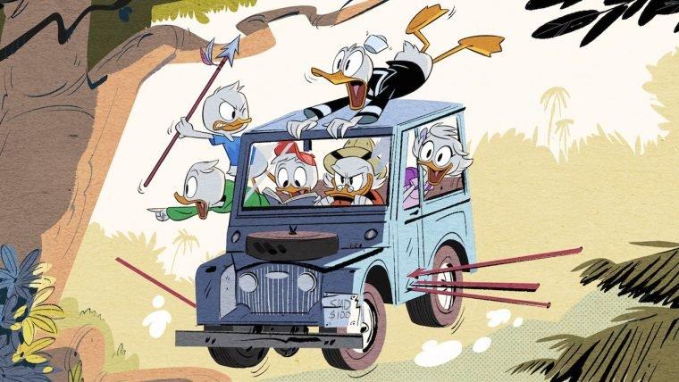 Disney divulga a primeira imagem do reboot de DuckTales