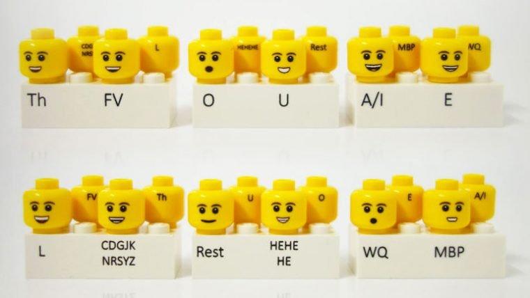 Esses rostos de minifigs podem ajudar quem faz stop-motion de LEGO