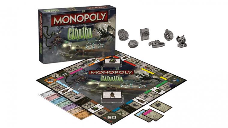 Na sua morada em R'lyeh, Cthulhu aguarda seu turno de Monopoly