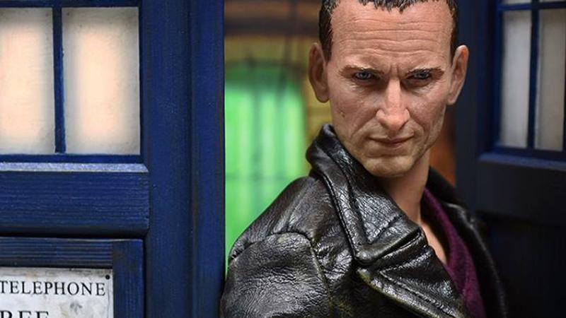 Figure do nono Doutor de Doctor Who é fantástico