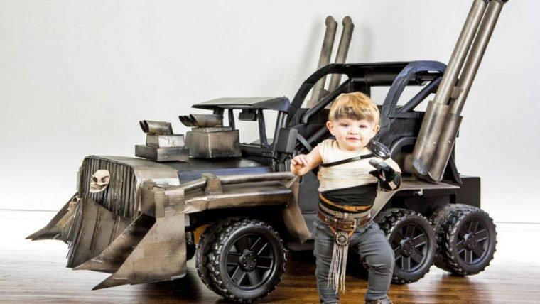 Testemunhem a versão mais adorável da Furiosa de Mad Max: Estrada da Fúria