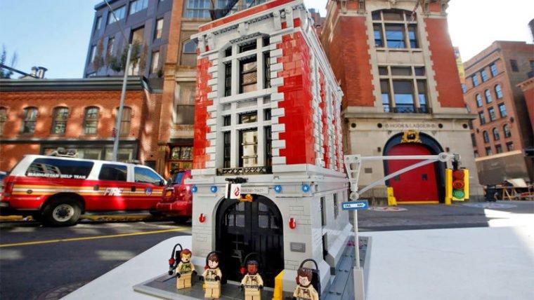 Veja as primeiras imagens oficiais do novo set de LEGO dos Caça-Fantasmas
