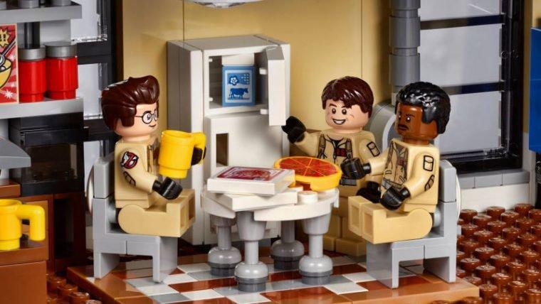 Confira detalhes da parte interna do novo set de LEGO de Caça-Fantasmas