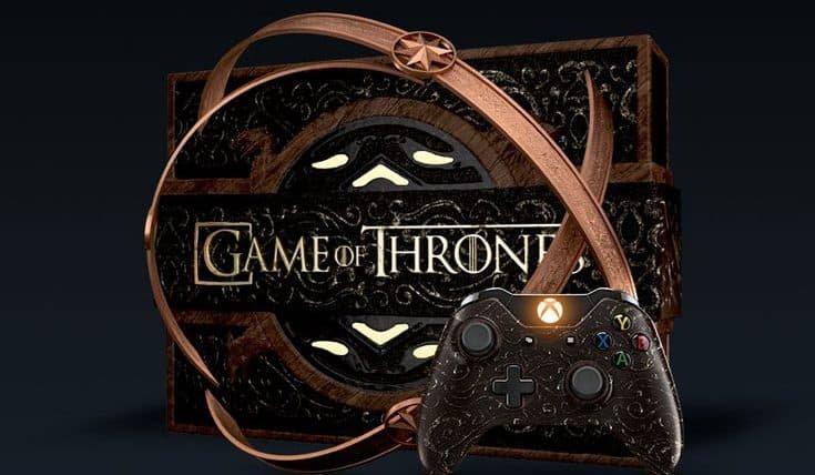 Essa edição especial do Xbox One vai deixar fãs de Game of Thrones malucos
