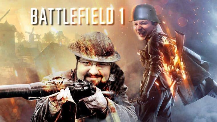Battlefield 1 - Ahh, eu vou snaipar!