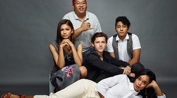 SDCC 2016 | Foto do elenco de Spider-Man: HomeComing homenageia Clube dos Cinco