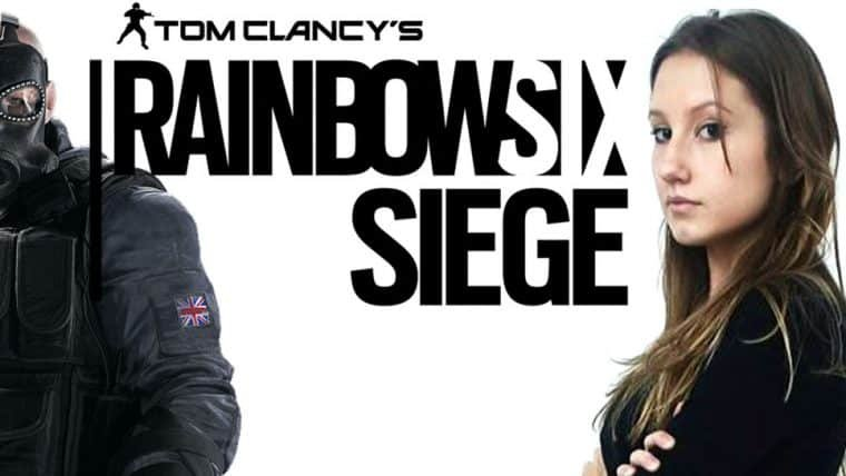 Rainbow Six Siege e a Capitã CherryGumms!