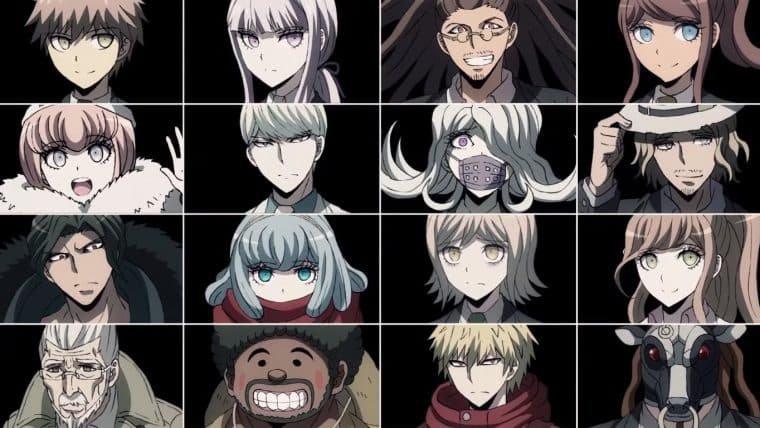 Danganronpa 3 | Teaser do anime apresenta os personagens