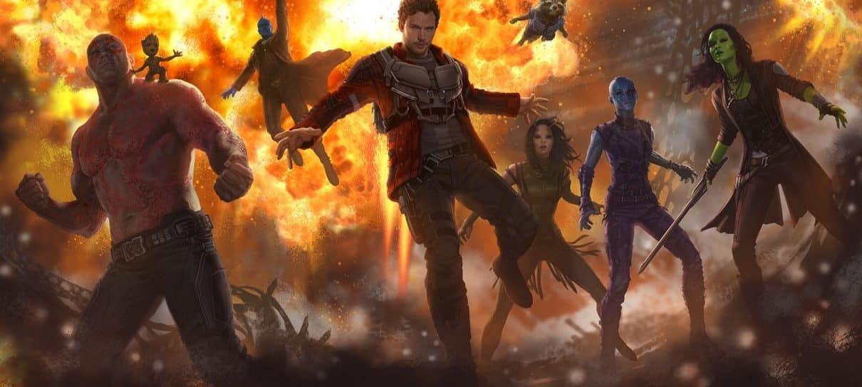 Guardiões da Galáxia Vol. 2 | Concept Art revela novos integrantes na equipe
