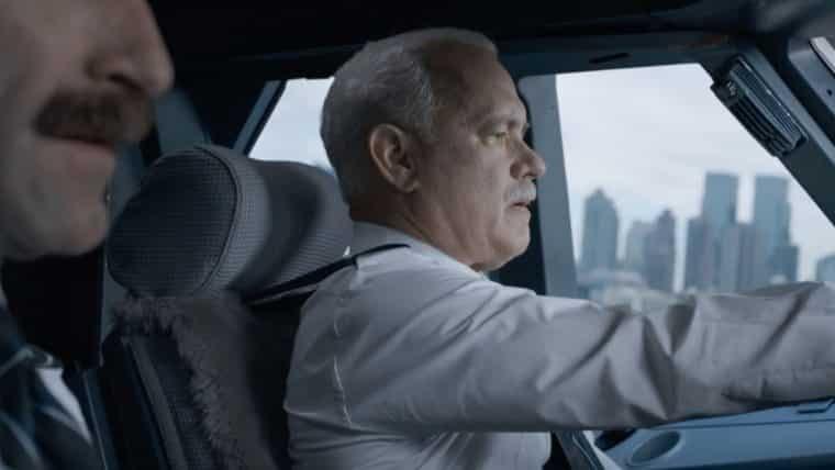 Tom Hanks interpreta um piloto que salva 155 passageiros em Sully: O Herói do Rio Hudson