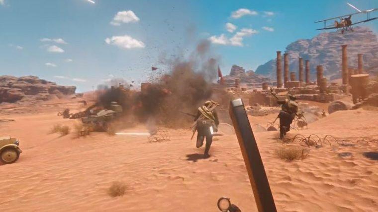 Battlefiled 1 | Batalhas no deserto são o foco em novo trailer