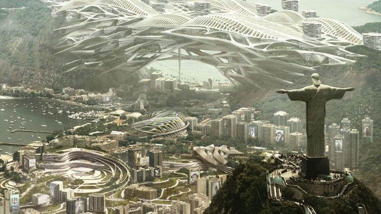 Deus Ex Mankind Divided | Artistas do jogo imaginam como seria o Rio de Janeiro em 2029