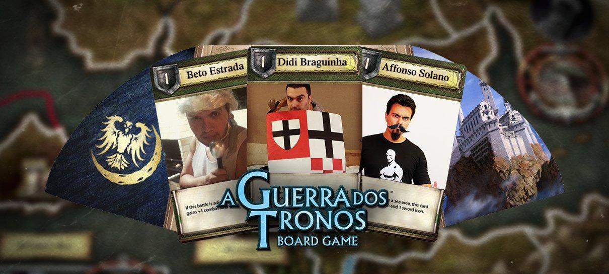 Guerra dos Tronos acabando as amizades!