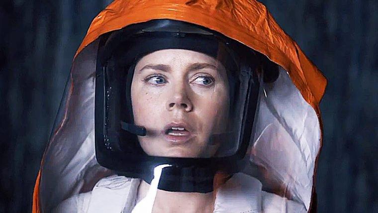 A Chegada   Trechos do filme mostram encontro assustador com aliens