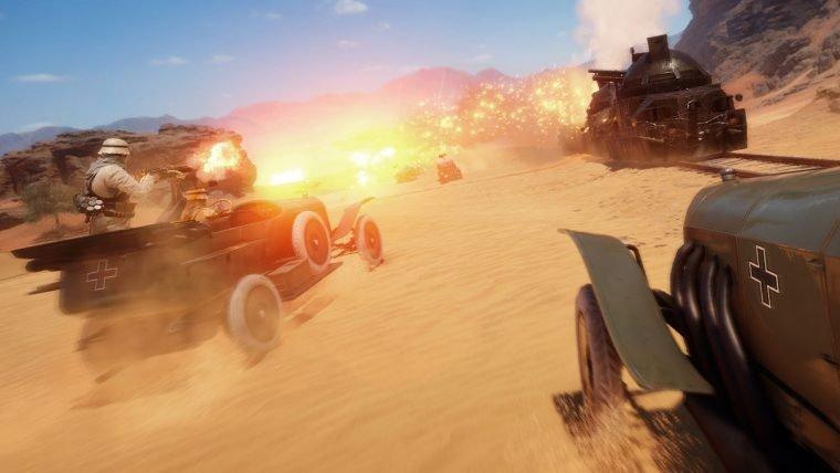 Battlefield 1 | Dice revela mais detalhes do mapa do beta: Deserto de Sinai