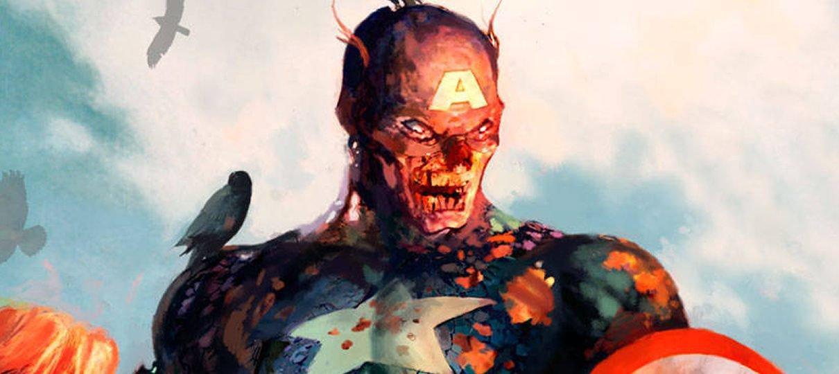 Capitão América: Guerra Civil | Filme poderia ter herói enfrentando zumbis