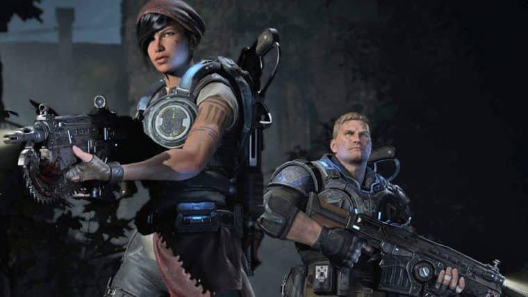 Gears of War original podia ter tido coprotagonista feminina