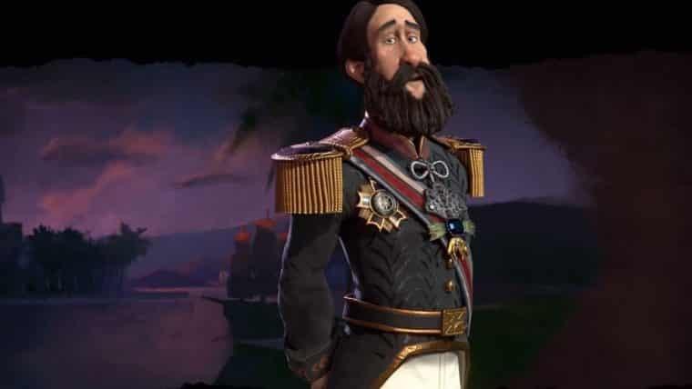 Civilization VI   Pedro II comanda a nação brasileira em novo vídeo do jogo