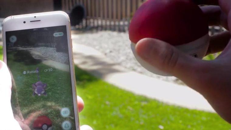 Trainer Ball é um controle remoto para capturar monstrinhos em Pokémon Go