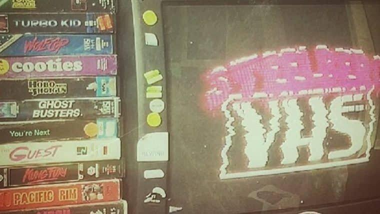 Artista cria capas de VHS para filmes modernos