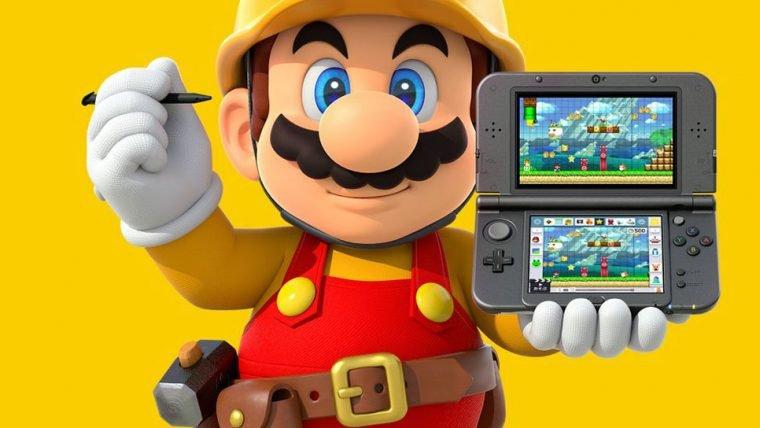 Mario Maker vai ganhar versão para 3DS