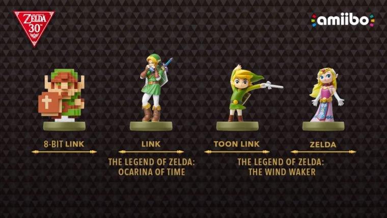 Zelda   Novos amiibos serão lançados em comemoração aos 30 anos da série