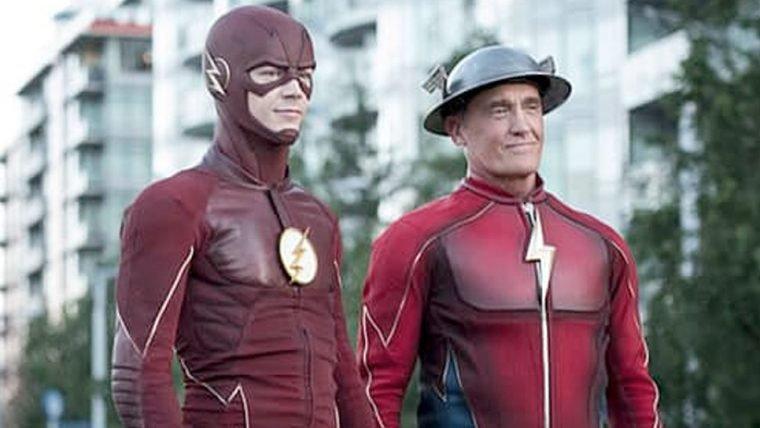 The Flash | Jay Garrick e Tom Felton nas novas fotos da terceira temporada