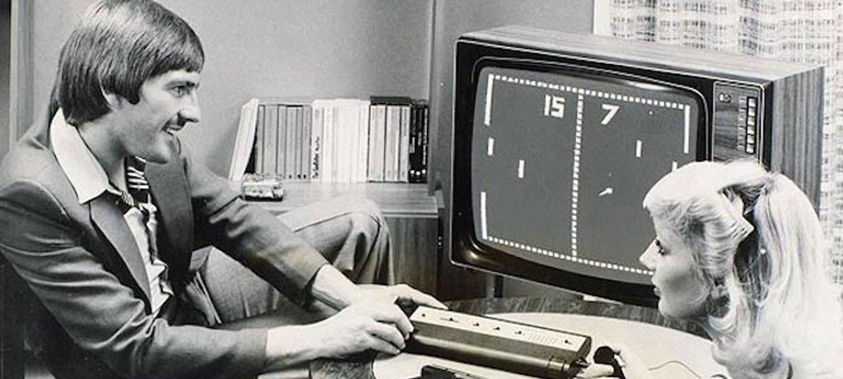 Pong: o futuro dos videojogos é agora!