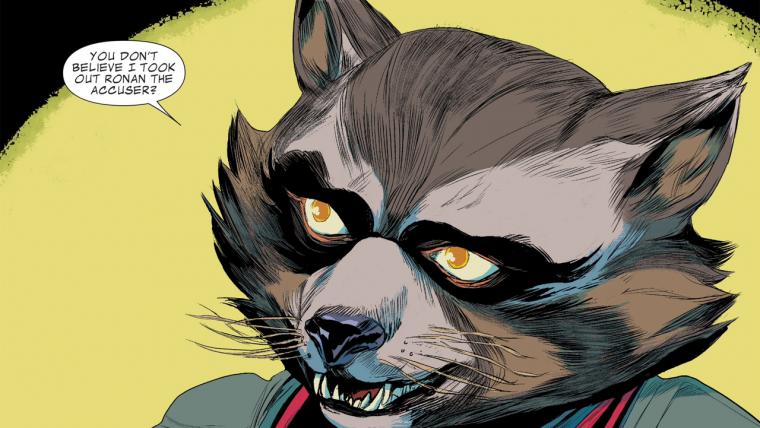 Guardiões da Galáxia   HQ de Rocket Raccoon ganha imagens