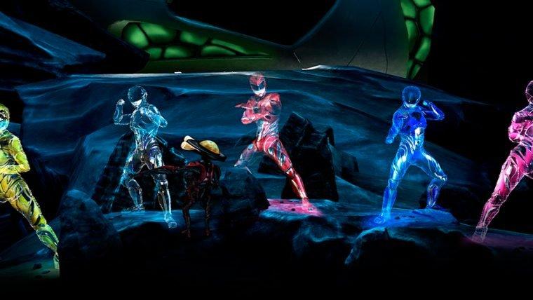 Power Rangers   Novas imagens mostram Alpha 5, Centro de Comando e Zords [Atualizado]