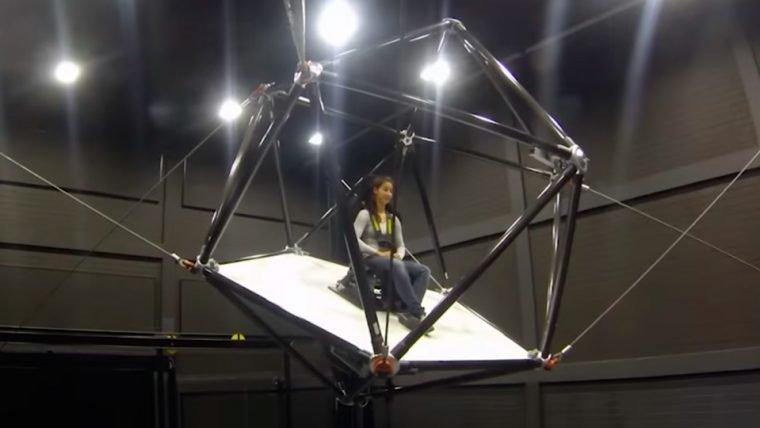 Conheça CableRobot Simulator, provavelmente o sistema mais imersivo para realidade virtual