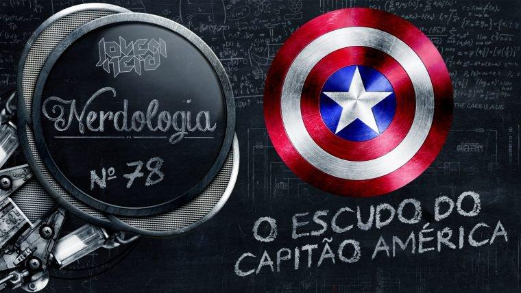 O escudo do Capitão América