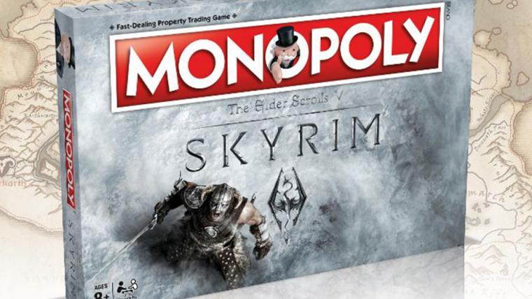 Monopoly anuncia edição especial de Skyrim