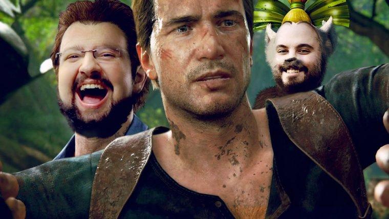 Uncharted 4 - Muito ajuda quem não atrapalha