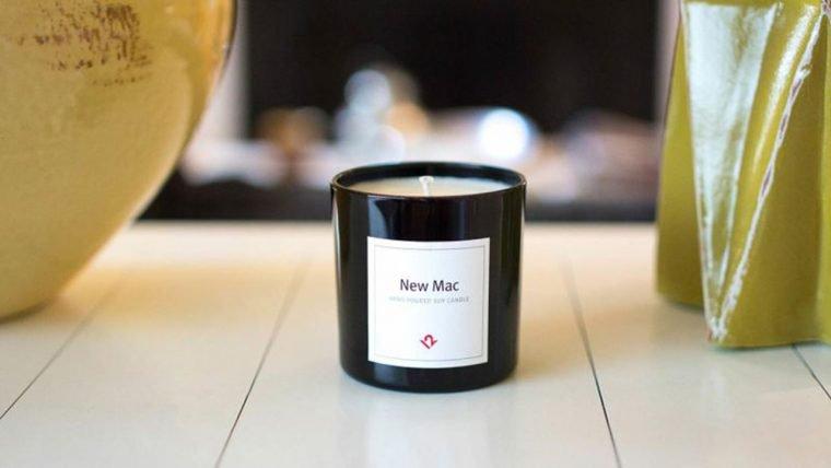 Vela com cheiro de Mac novo é a nova moda entre os fãs da Apple