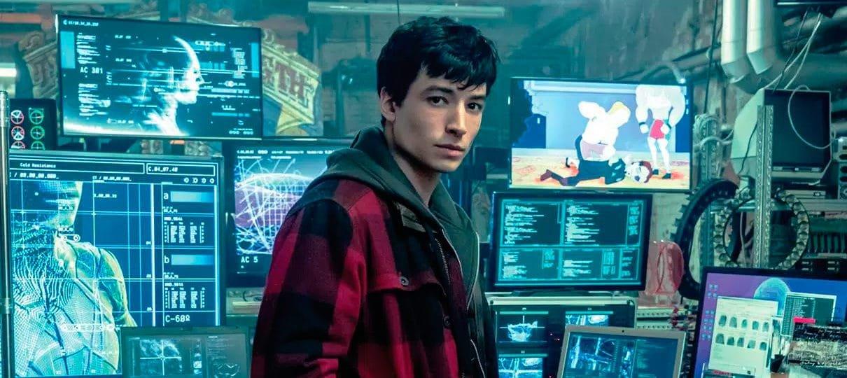 Barry Allen é destaque na nova imagem da Liga da Justiça
