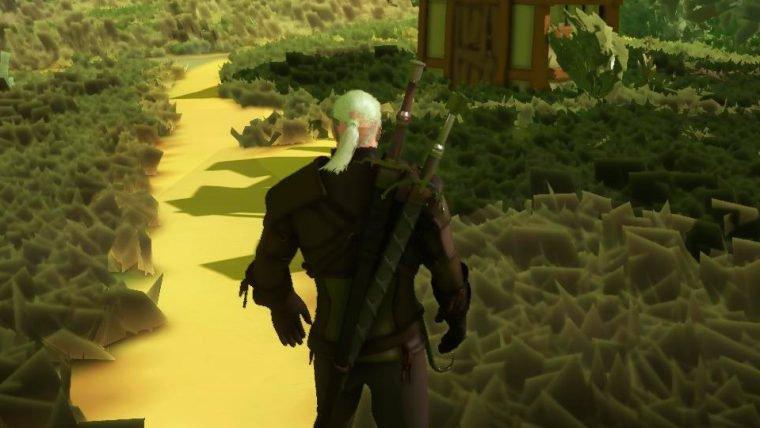 The Witcher 3 com gráficos minimalistas continua lindo