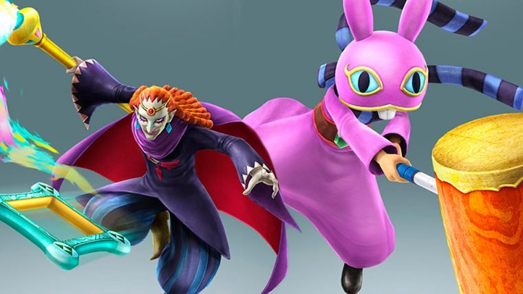 Hyrule Warriors Legends ganha conteúdos de A Link Between Worlds