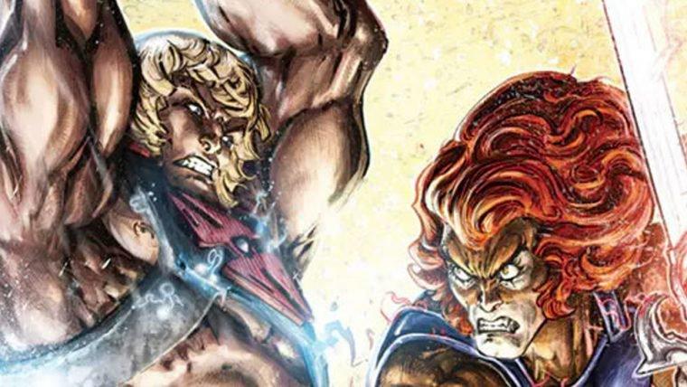 Crossover de He-Man e Thundercats ganha novas capas