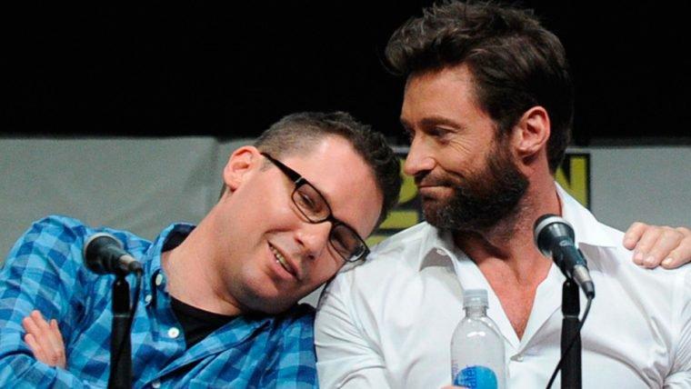 Hugh Jackman presenteia Bryan Singer com arte personalizada de X-Men