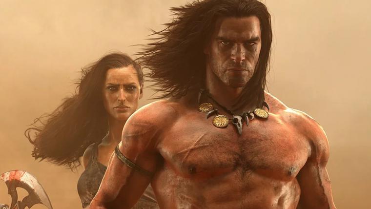 Jogo de mundo aberto do Conan ganha trailer com criaturas imensas
