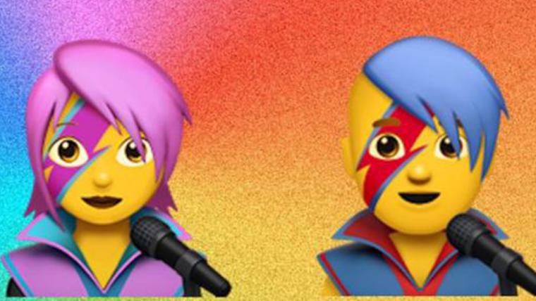 David Bowie vai ganhar emojis no iOS 10.2