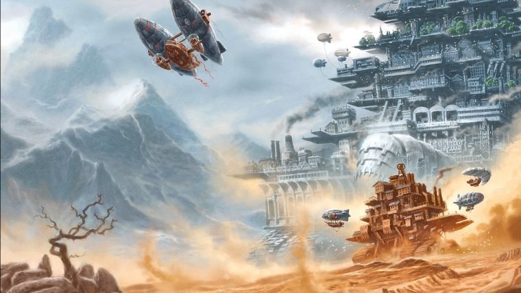 Mortal Engines | Adaptação cinematográfica de Peter Jackson chega às telonas em 2018