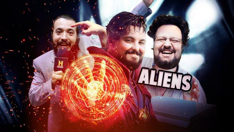 Dr. Estranho e ALIENS!