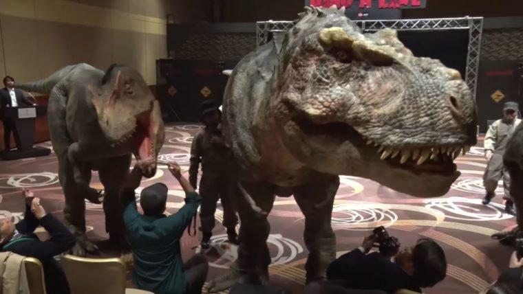 Empresa japonesa não vai poupar despesas para criar um Parque dos Dinossauros-Robôs