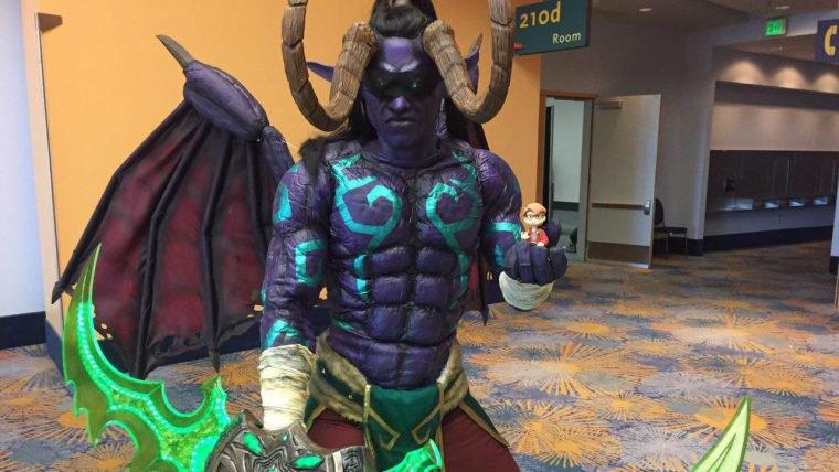 World of Warcraft | Brasileiro ensina a fazer um cosplay de Illidan Tempesfúria