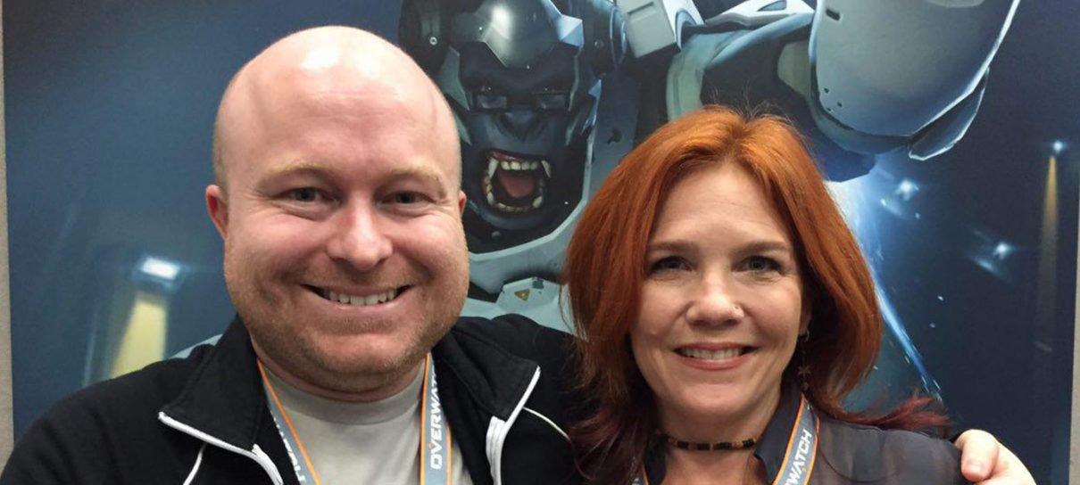 Overwatch   Entrevistamos Geoff Goodman e Skye Chandler