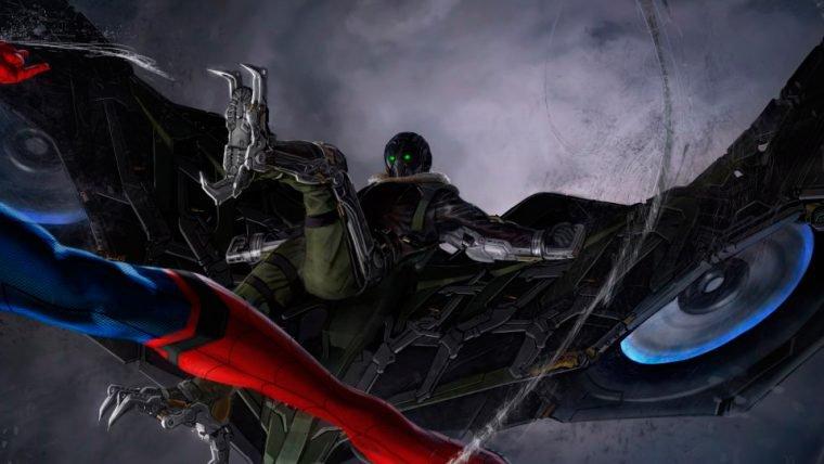 Spider-Man: Homecoming   Vazam novas artes conceituais do Abutre [RUMOR]