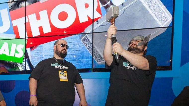 CCXP | É hora da revanche do Jovem Nerd no estande da Hasbro